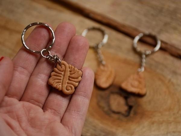 Obesek za ključe Domaći piškot
