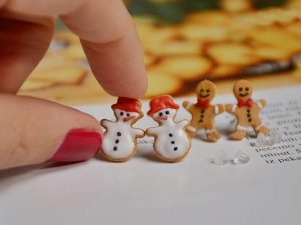 Mali uhani Sneženi mož