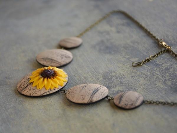 Velika ogrlica Sončnica