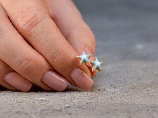 Uhani Royal Icing Zvezdice