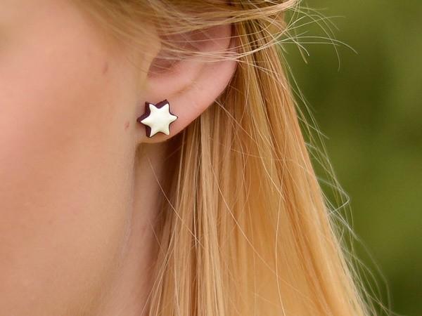 Unikatni uhani Cimetove zvezdice
