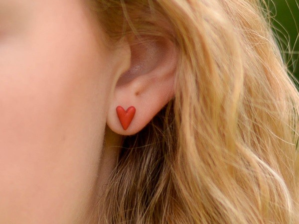 Unikatni uhani Srčki