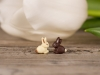 Uhani Mix čoko zajčki