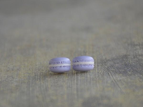 Mali uhani Macarons