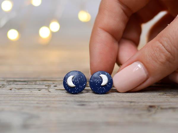 Mali uhani Luna