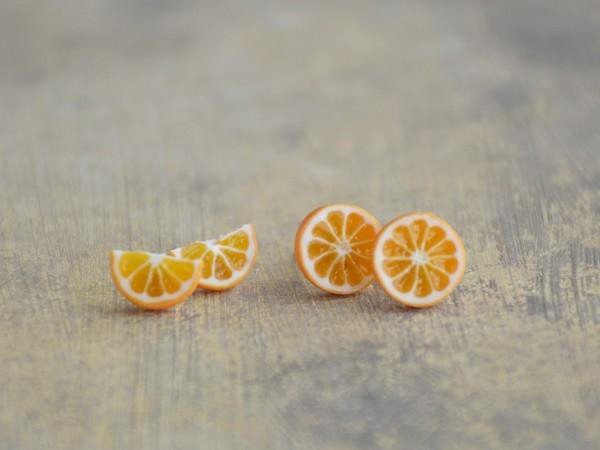 Mali uhani Pomaranče