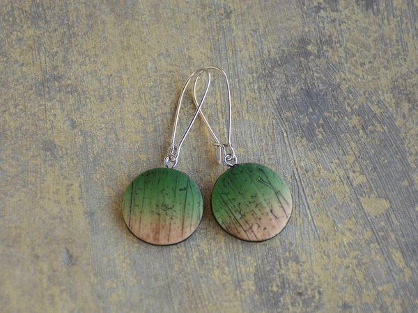 Mali viseči uhani Amazonija Blank
