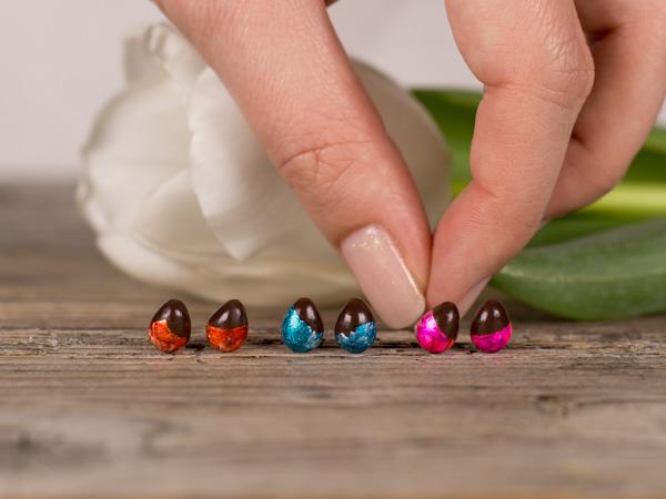 Uhani Čokoladna jajčka
