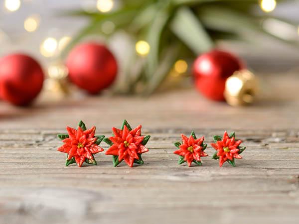 Mali uhani Božične zvezde