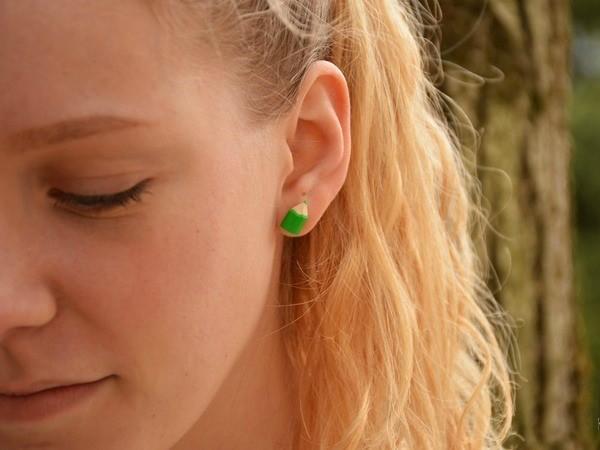 Barvice - mali uhani