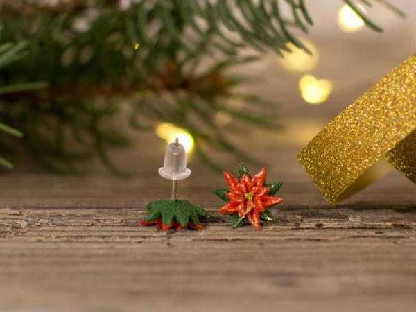 Božične zvezde - rdeče