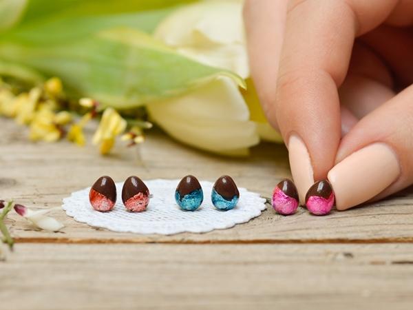 Mali uhani Čokoladna jajčka