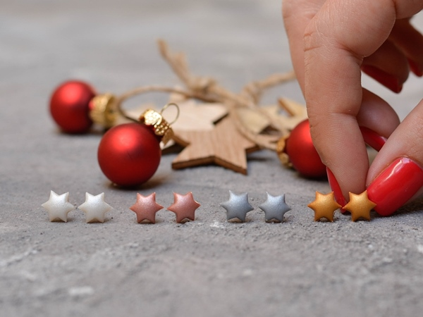 Zvezdice - mali uhani
