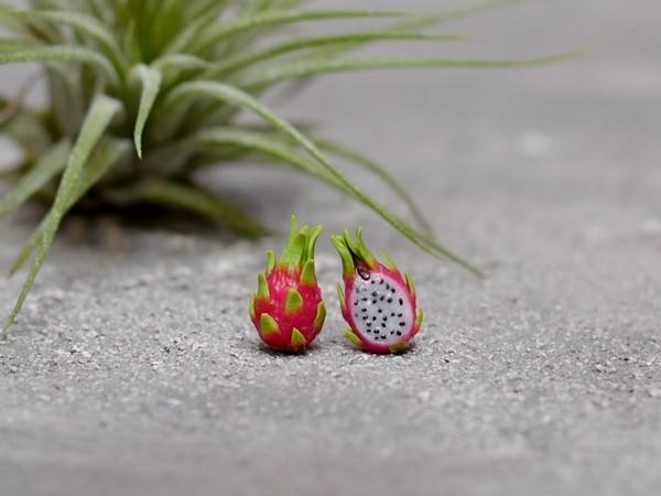 Mali uhani Dragonfruit
