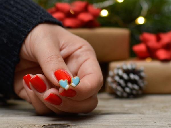 Uhančki Božične rokavice